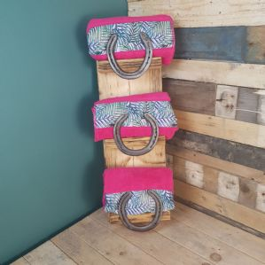 Locally Made Horse Shoe Towel Holder